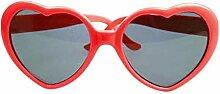 gfjfghfjfh Modische Herzform Sonnenbrille