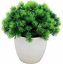 Gfjhgkyu 1 Stück Künstliche Pflanze Miniascape