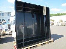 GFK Teichbecken quadratisch 240/240 cm 2.900 ltr.