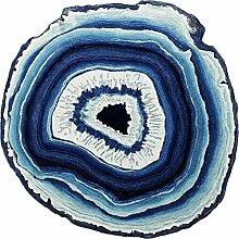 Gfl-Teppiche Couchtisch Teppich nordischen Runde