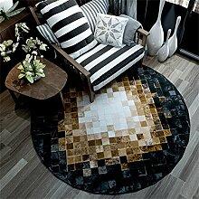 Gfl-Teppiche Runde Matten Nordic minimalistischen