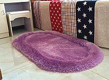 Gfl Teppiche Verdickt Oval Filament Bettdecke
