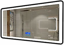 Gfpql Intelligenter LED-Badspiegel mit Lampe,