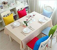 GFYWZ Einfach Tischdecke mit Tuch im Hause Zehnfarben-optional , beige , 140*220cm