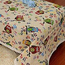 GFYWZ Farbig bedruckte Tischdecken Tisch Dekorationsstoff , 140*140cm