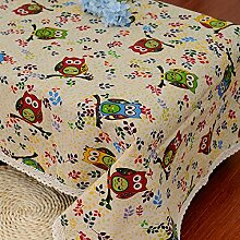 GFYWZ Farbig bedruckte Tischdecken Tisch Dekorationsstoff , 90*90cm