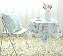 GFYWZ Frische Baumwolle Spitze Spitze Tischdecke drucken , 100*160cm