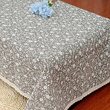GFYWZ Grauen kleinen floralen Tischwäsche , 140*200cm