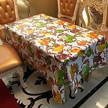 GFYWZ Home Küche wasserdicht PVC Tischdecke , 6 , 137*137cm