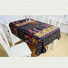 GFYWZ Inländische Baumwolle und Leinen Tischdecke , 90*90cm