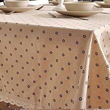 GFYWZ Leinen Tischdecke Stoffservietten, 1, 90 *