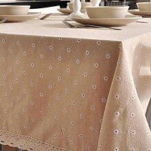 GFYWZ Leinen Tischdecke Stoffservietten, 2, 90 *
