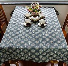 GFYWZ Nach Hause rechteckige dicke Baumwolle und Leinen Tischdecke , 60*60