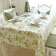 GFYWZ Nach Hause rechteckige Tischdecke , 130*200cm