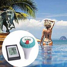 Ggaggaa Schwimmbecken-Thermometer Drahtlose