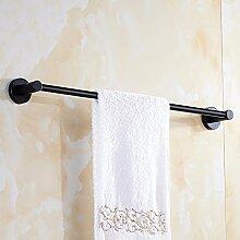 GGHYYO Handtuchhalter Handtuchhalter Edelstahl Wandmontage Badezimmer Accessoires 40cm