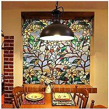 GGreenary Glasmalerei Fensterfolie, Privatsphäre