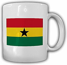 Ghana Fahne_Flagge Afrika - Tasse Becher Kaffee #13486