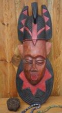 Ghana, Holzmaske,Große Afrikanische Maske, 68cm