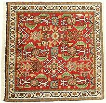 Ghashghai Teppich Orientteppich 59x60 cm, Quadrat