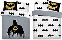 Ghazlan ® Batman Dark Knight Bettdeckenbezug,