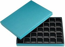Ghent Letter Storage Box, Blue by Ghen