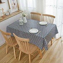 GHGD 90x140cm-Tischdecke Home Decor Esstischdecke