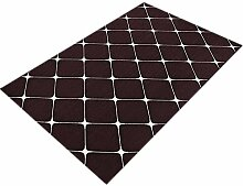 GHGMM Teppich Fußmatten, Einfach rutschfest