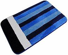 GHGMM Teppich Fußmatten, Streifen Wasseraufnahme