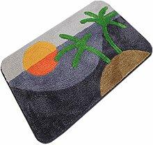 GHGMM Teppich Fußmatten, Wasseraufnahme
