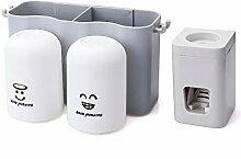 ghjg Badezimmer Zahnbürste Rack Lagerung
