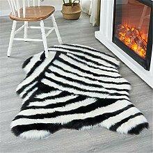 GHKT Flauschiger Bereich Teppich Luxus Flauschiger