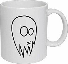 Ghost' Ceramic Mug/Travel Coffee Mug