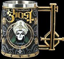 Ghost Fantasy Bier-Krug - Gold Meliora | Gothic
