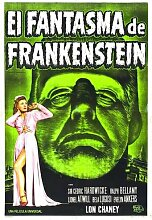 Ghost Of Frankenstein Poster 01 Metal Sign A4 12x8 Aluminium