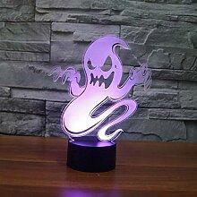 Ghost Tischlampe 7 Farben Wechselnde Berührung