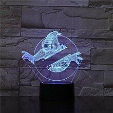 Ghost Touch Tischlampe 7 Farben Ändern