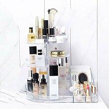 GHP Kosmetische Aufbewahrungsbox Desktop Dresser