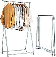 GIANTEX Kleiderstange klappbar, Garderobenständer