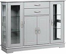 GIANTEX Küchenschrank Sideboard Aufbewahrung,