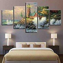 GIAOGE Hd Gedruckt Bilderrahmen Leinwand Wandkunst