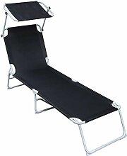 Giaowoli Sonnenliege, Liegestuhl ist klappbar,