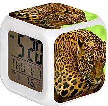 GIAPANO LED Alarm Colock 7 Farben Schreibtisch