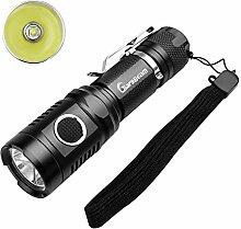 GiareBeam USB wiederaufladbare Taschenlampe super