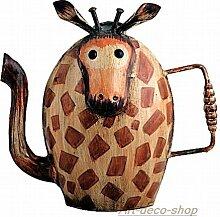 Gießkanne Giraffe aus Blech, Handarbeit