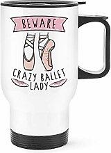 Gift Base Beware Verrückte Ballett Damen Reise
