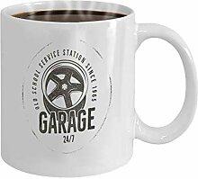 Gift Coffee Mugs Tea Cups White Ceramic 11 Oz
