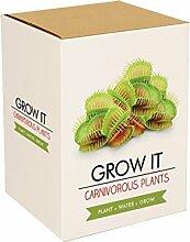 Gift Republic Grow It Geschenkset Fleischfressende-Pflanzen-Pflanzse