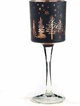 Giftcraft Glas-Kerzenhalter