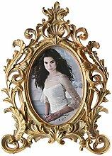 Giftgarden Bilderrahmen 10 x 15 cm Gold Vintage